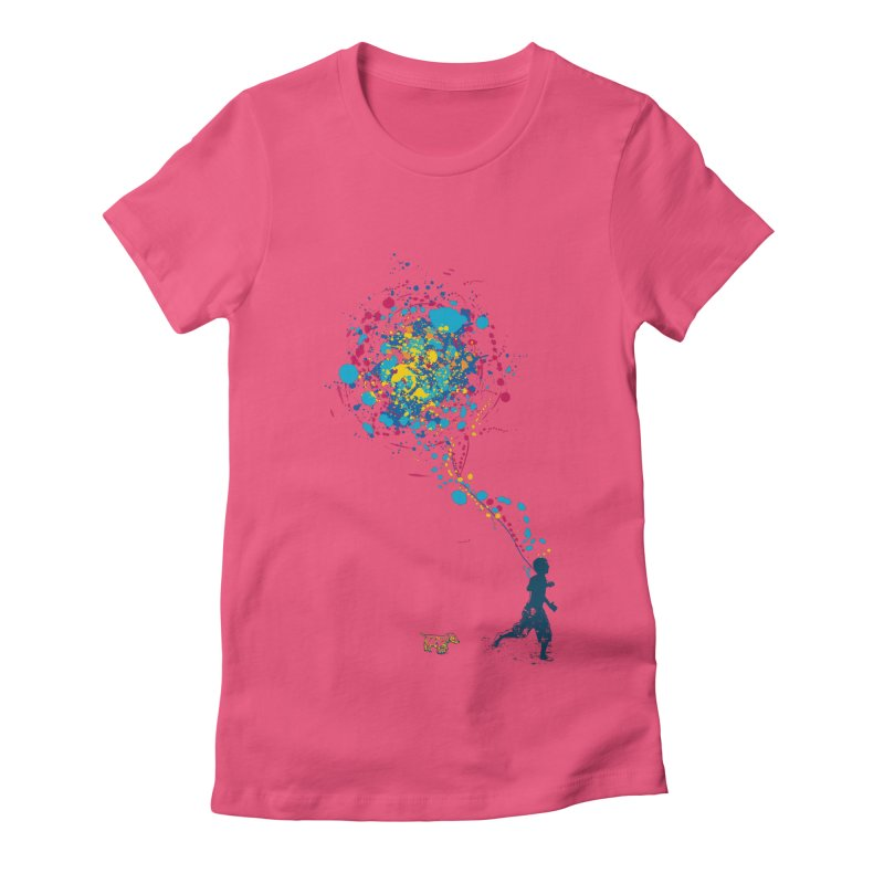 child creation chronicle Women's Fitted T-Shirt by kharmazero's Artist Shop