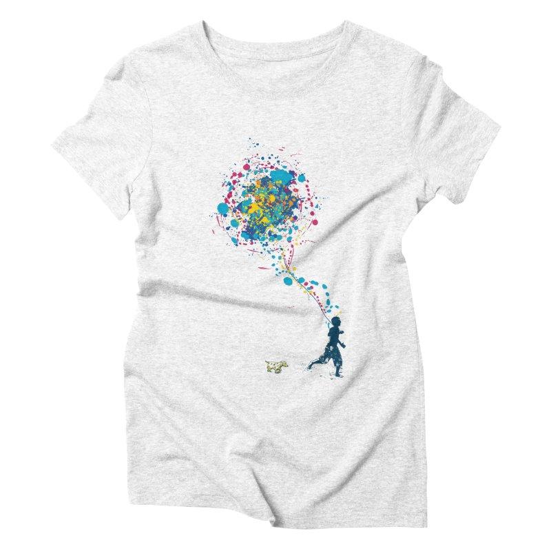 child creation chronicle Women's Triblend T-shirt by kharmazero's Artist Shop