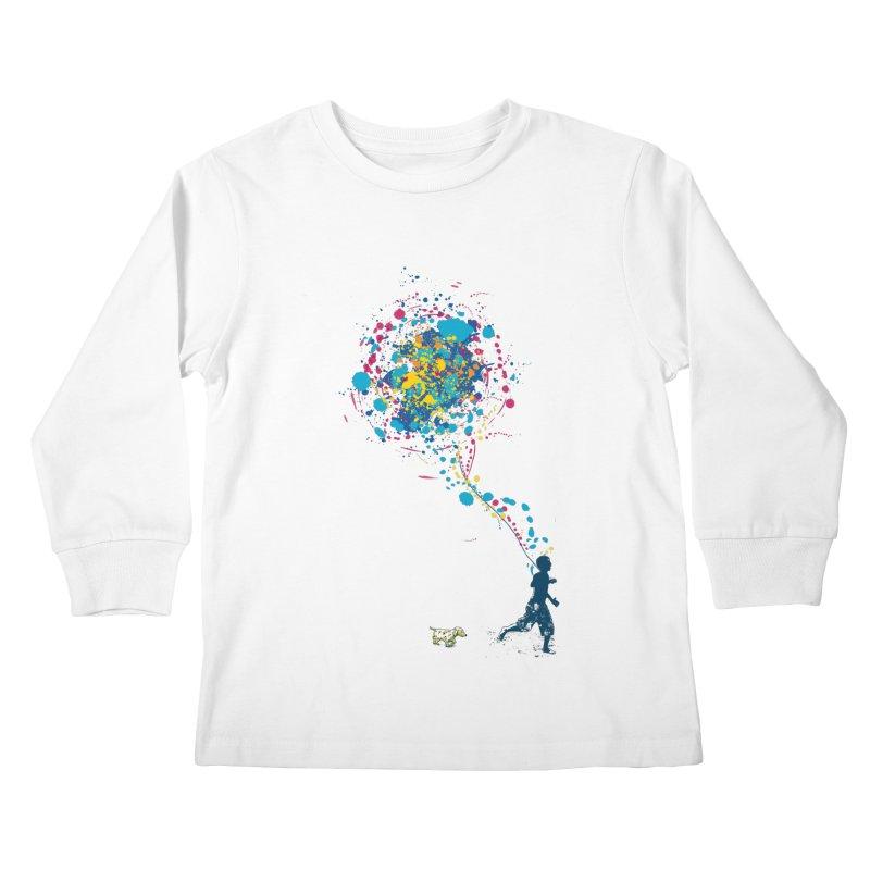 child creation chronicle Kids Longsleeve T-Shirt by kharmazero's Artist Shop