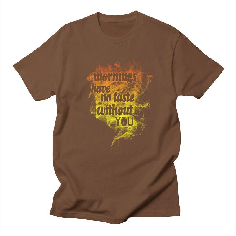 mornings Men's T-shirt by kharmazero's Artist Shop