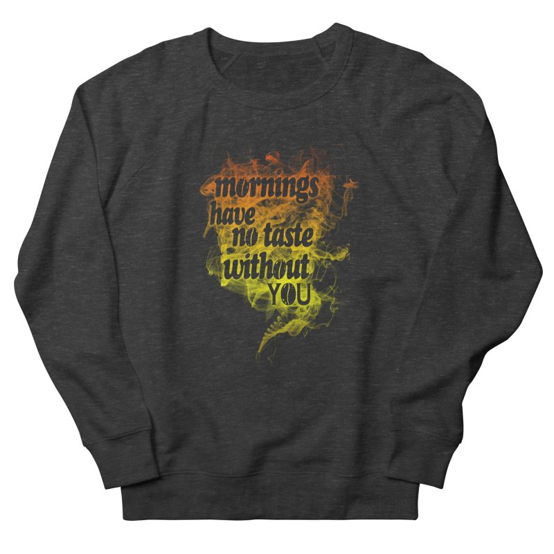 mornings Men's Sweatshirt by kharmazero's Artist Shop