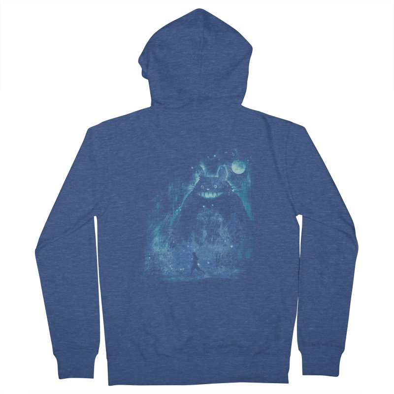 the hidden friend Men's Zip-Up Hoody by kharmazero's Artist Shop