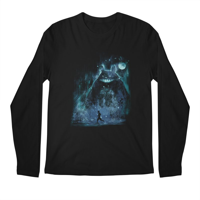 the hidden friend Men's Longsleeve T-Shirt by kharmazero's Artist Shop