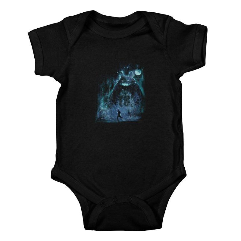 the hidden friend Kids Baby Bodysuit by kharmazero's Artist Shop