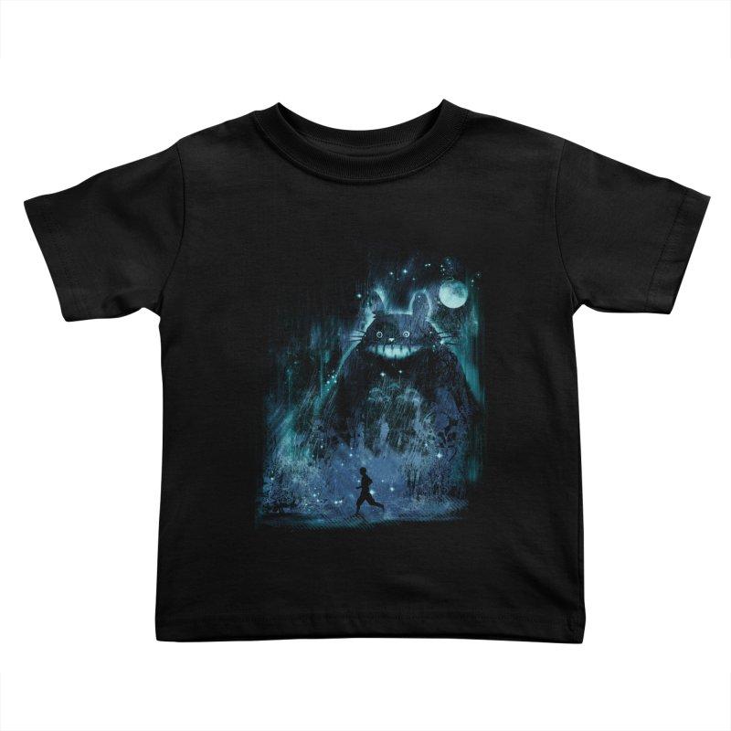 the hidden friend Kids Toddler T-Shirt by kharmazero's Artist Shop