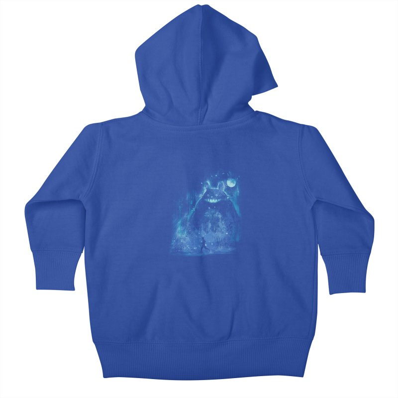 the hidden friend Kids Baby Zip-Up Hoody by kharmazero's Artist Shop
