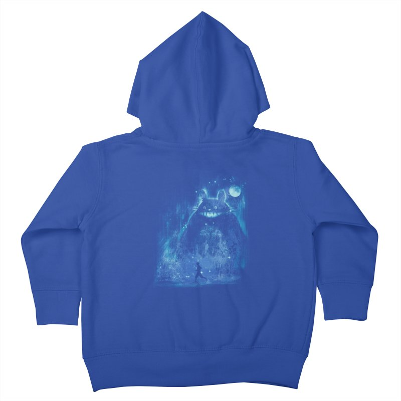 the hidden friend Kids Toddler Zip-Up Hoody by kharmazero's Artist Shop