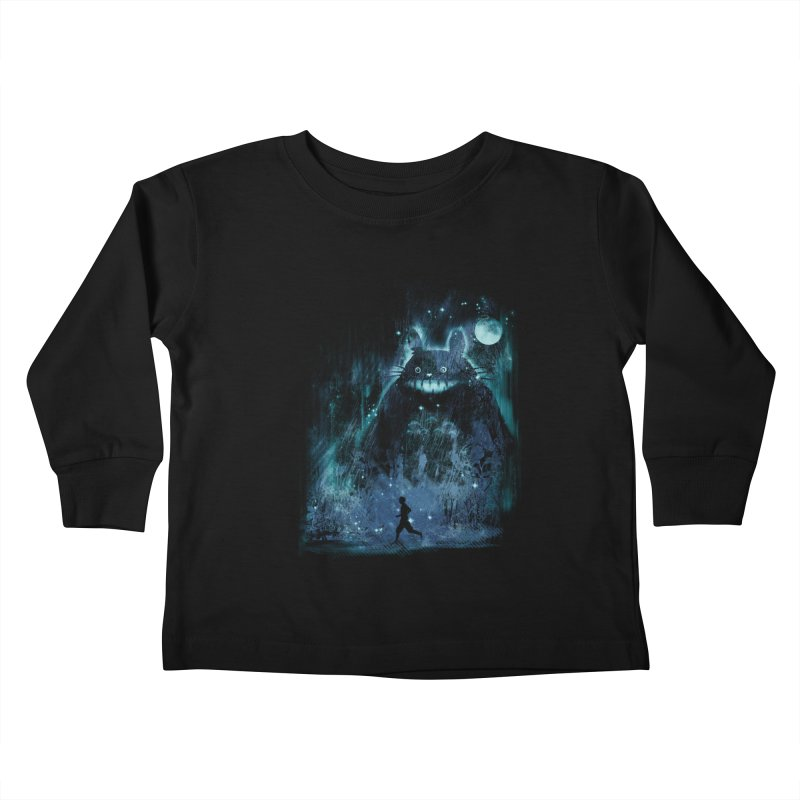 the hidden friend Kids Toddler Longsleeve T-Shirt by kharmazero's Artist Shop