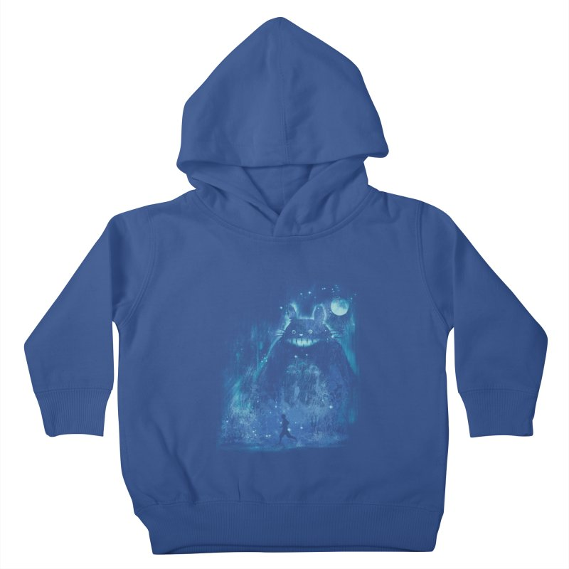 the hidden friend Kids Toddler Pullover Hoody by kharmazero's Artist Shop