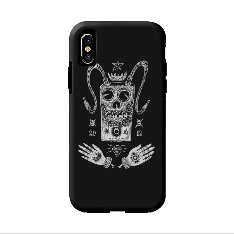 KHDK Pedal Baphomet Accessories Phone Case by KHDK