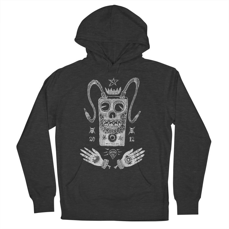 KHDK Pedal Baphomet Women's French Terry Pullover Hoody by KHDK