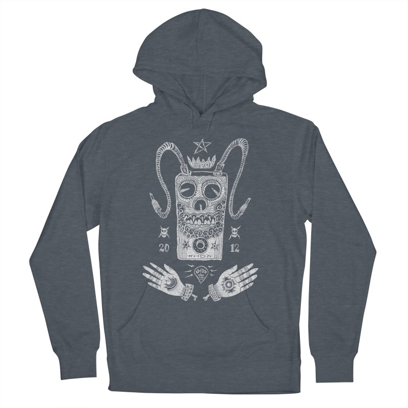 KHDK Pedal Baphomet Men's French Terry Pullover Hoody by KHDK