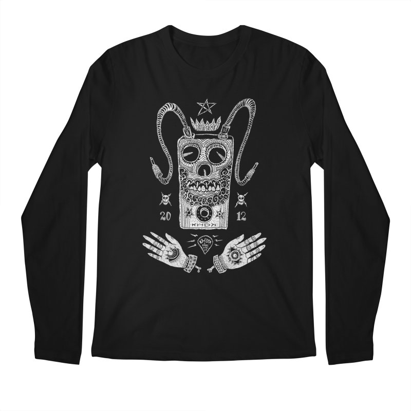 KHDK Pedal Baphomet Men's Regular Longsleeve T-Shirt by KHDK