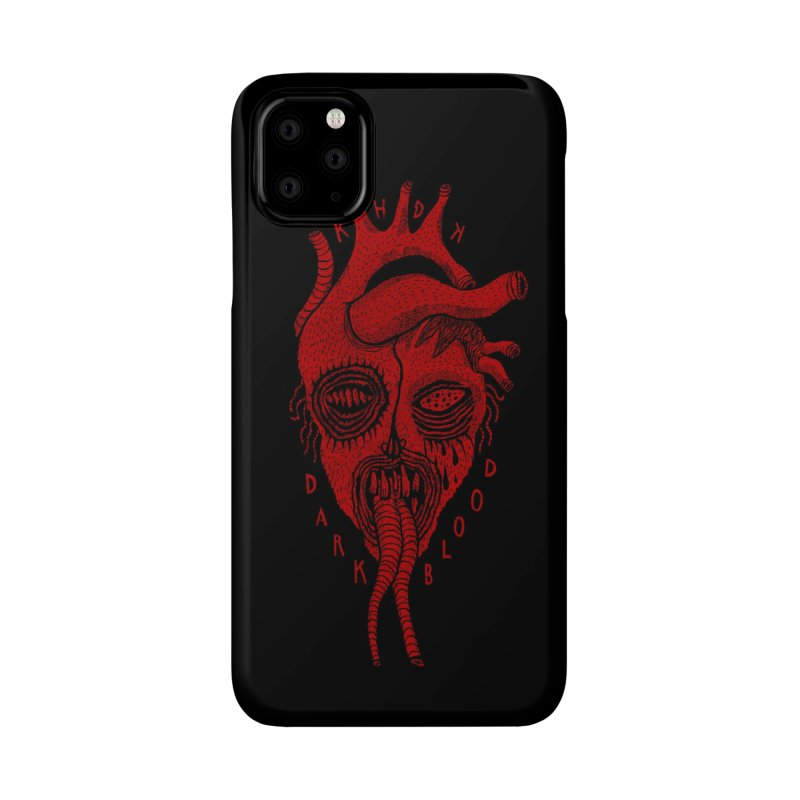 KHDK Dark Blood Heart R Accessories Phone Case by KHDK