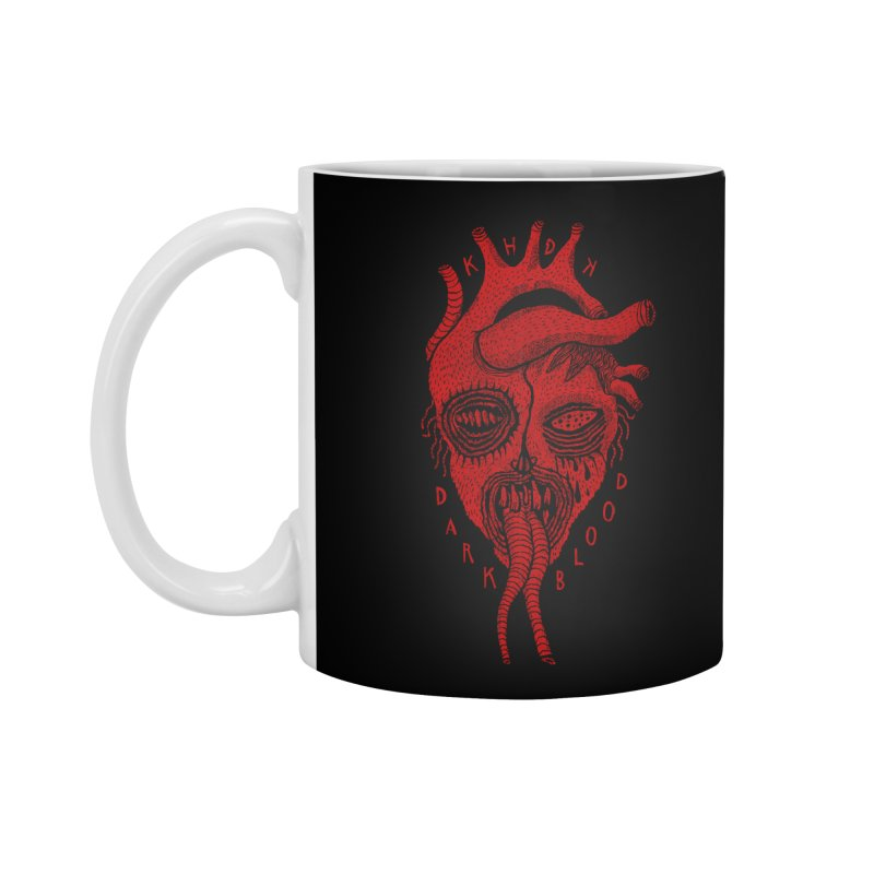 KHDK Dark Blood Heart R Accessories Mug by KHDK
