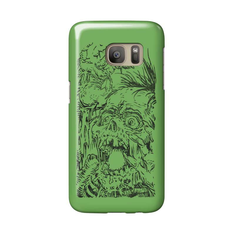 KHDK Ghoul Screamer B Accessories Phone Case by KHDK