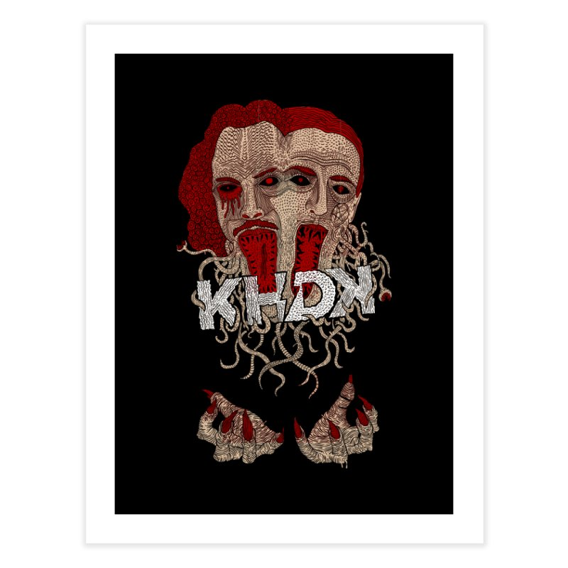The Two-Headed Beast (Kirk Hammett and David Karon) Home Fine Art Print by KHDK