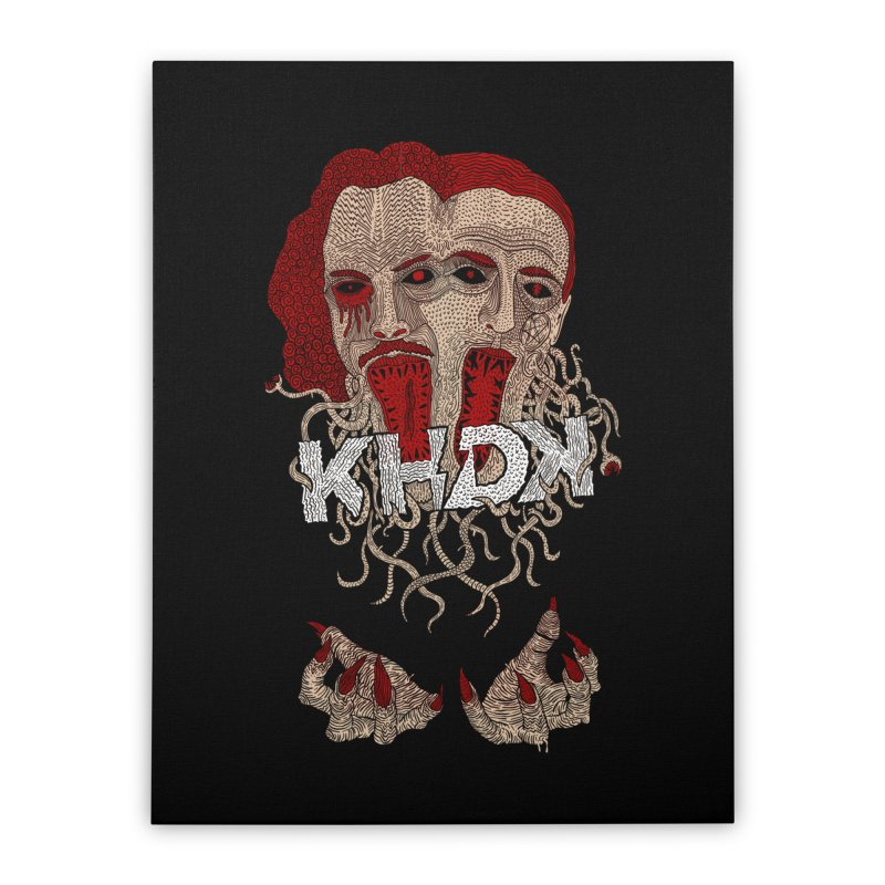 The Two-Headed Beast (Kirk Hammett and David Karon) Home Stretched Canvas by KHDK