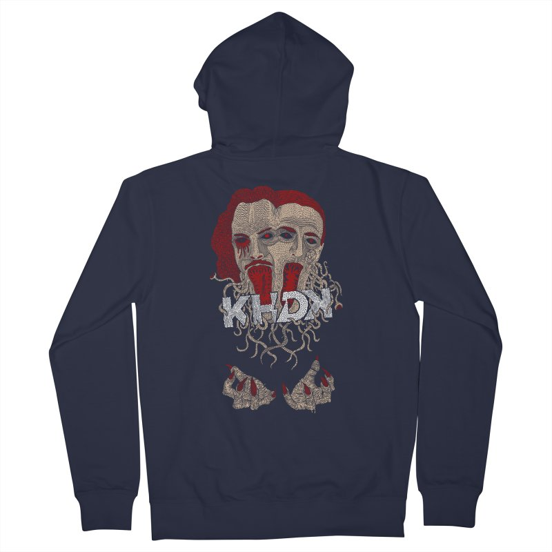 The Two-Headed Beast (Kirk Hammett and David Karon) Men's French Terry Zip-Up Hoody by KHDK