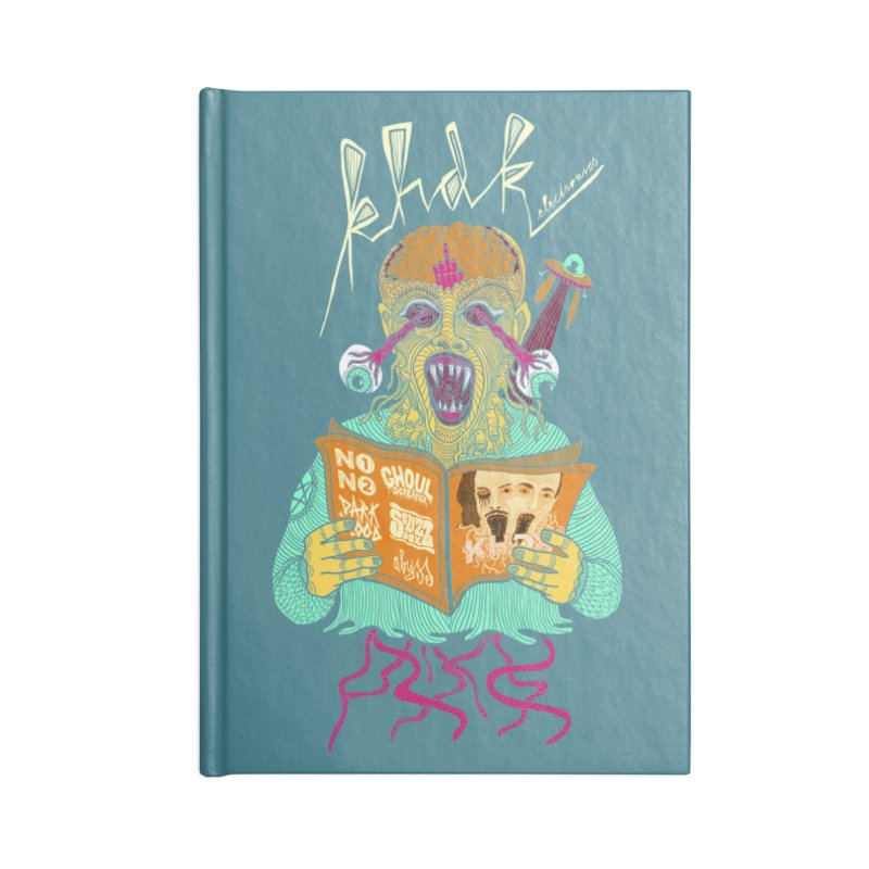 KHDK Alien Accessories Blank Journal Notebook by KHDK