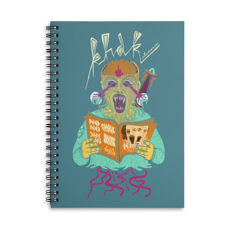 KHDK Alien Accessories Notebook by KHDK