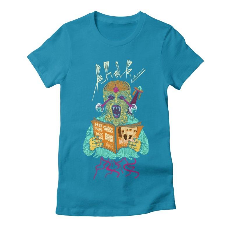 KHDK Alien Women's Fitted T-Shirt by KHDK