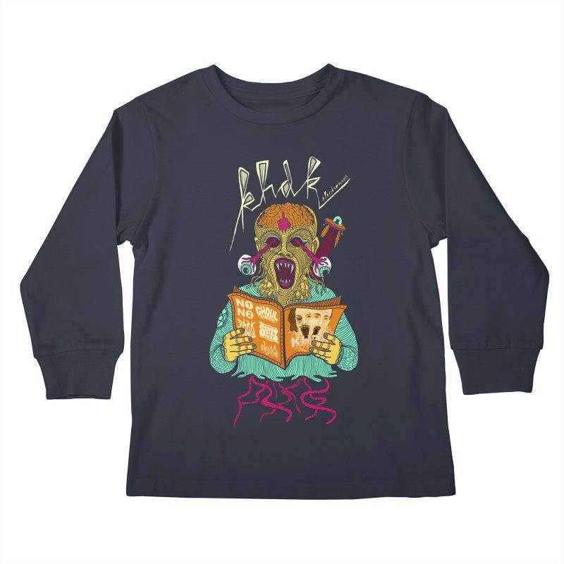 KHDK Alien Kids Longsleeve T-Shirt by KHDK