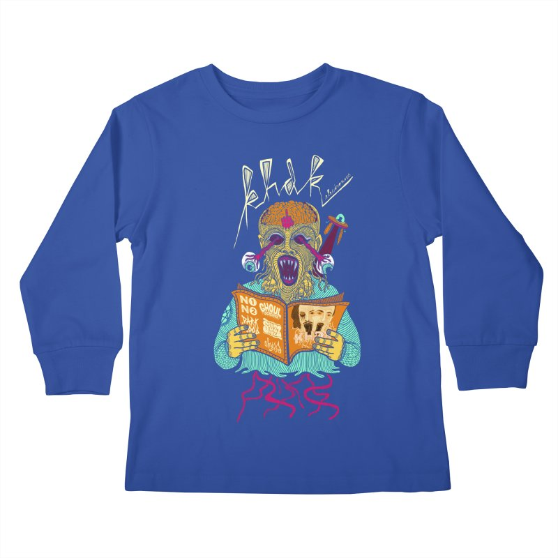 KHDK Alien Kids Longsleeve T-Shirt by KHDK
