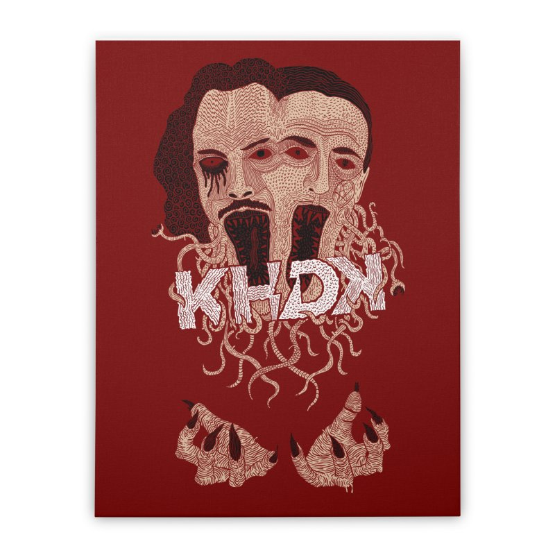KHDK Kirk & David Wall Art 1 Home Stretched Canvas by KHDK
