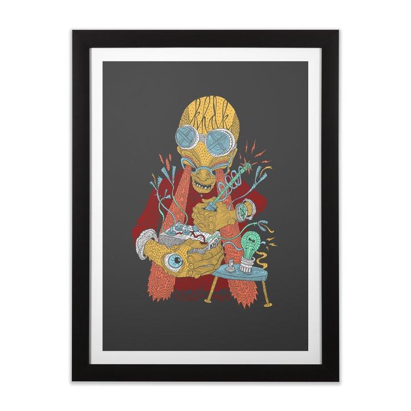 KHDK Tony & The Circuits Wall Art Home Framed Fine Art Print by KHDK