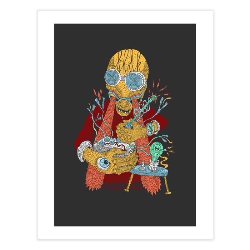 KHDK Tony & The Circuits Wall Art Home Fine Art Print by KHDK