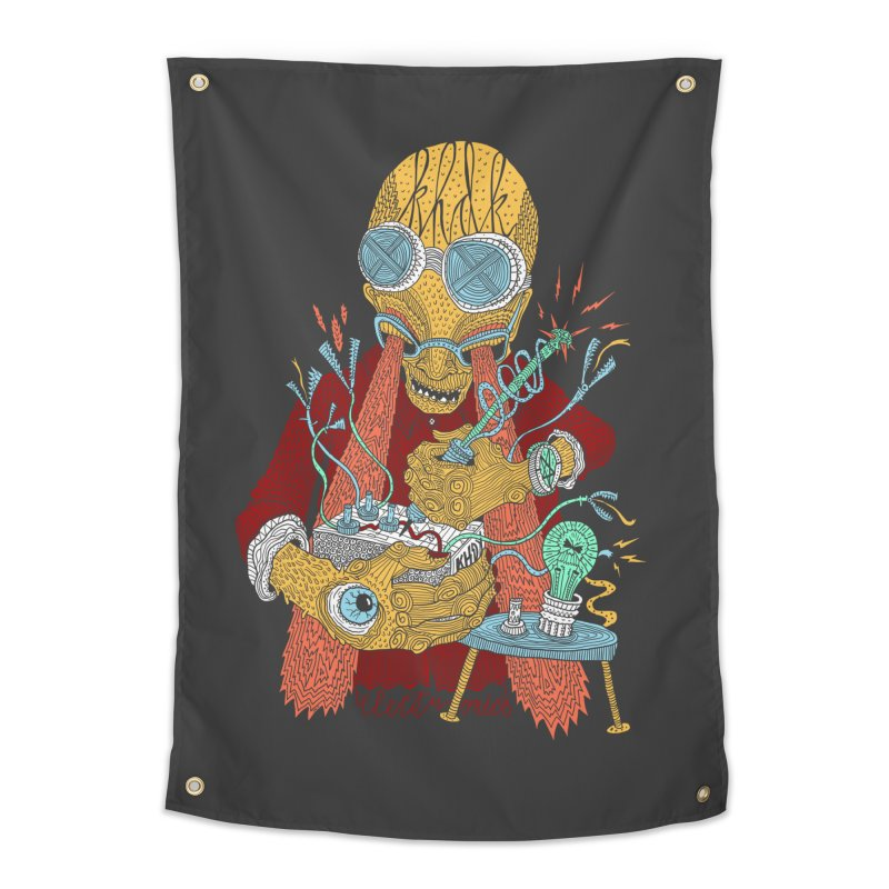 KHDK Tony & The Circuits Wall Art Home Tapestry by KHDK
