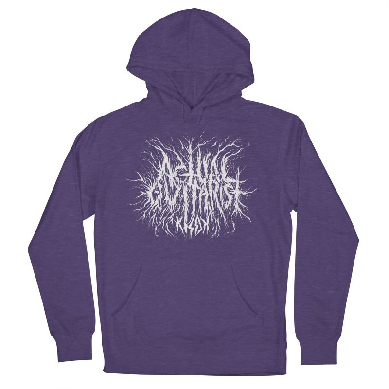 KHDK Actual Guitarist Women's French Terry Pullover Hoody by KHDK