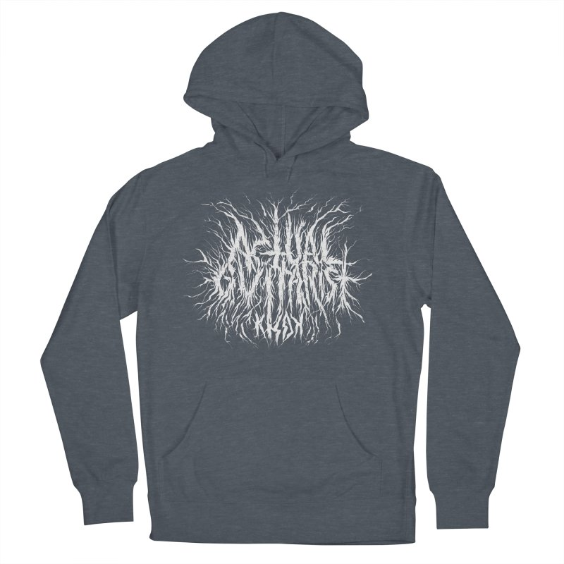 KHDK Actual Guitarist Men's French Terry Pullover Hoody by KHDK