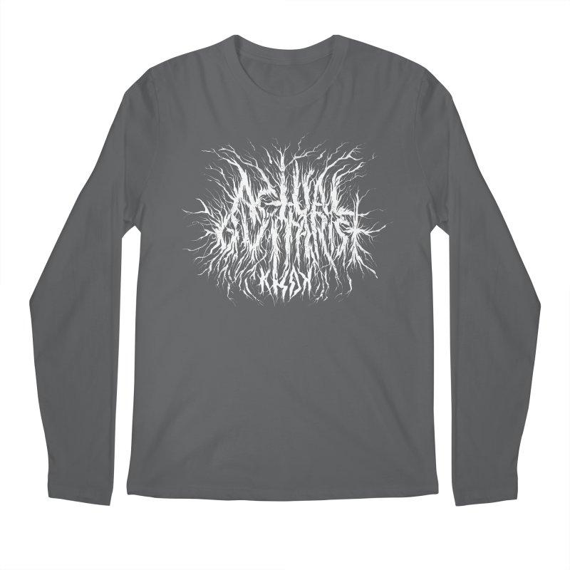 KHDK Actual Guitarist Men's Longsleeve T-Shirt by KHDK