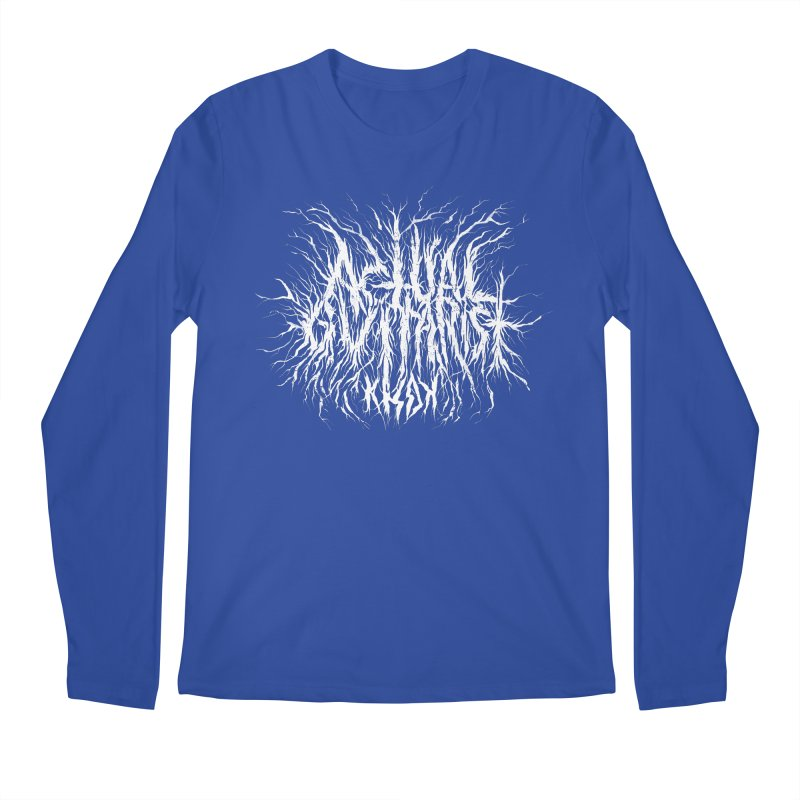 KHDK Actual Guitarist Men's Regular Longsleeve T-Shirt by KHDK
