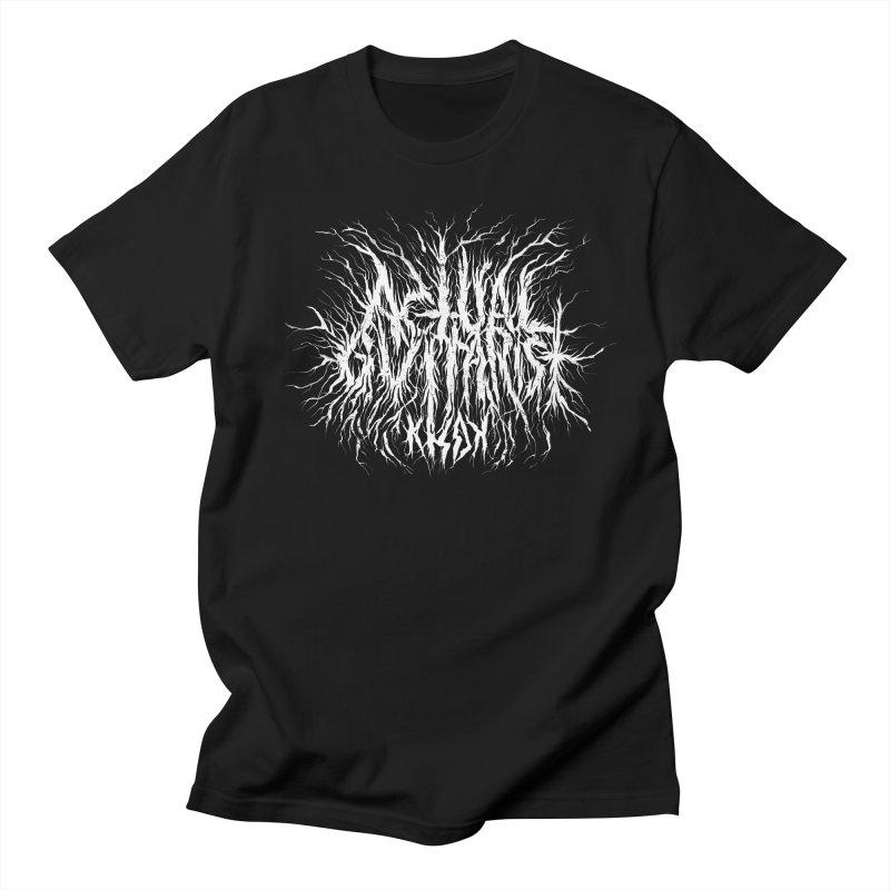 KHDK Actual Guitarist Men's Regular T-Shirt by KHDK