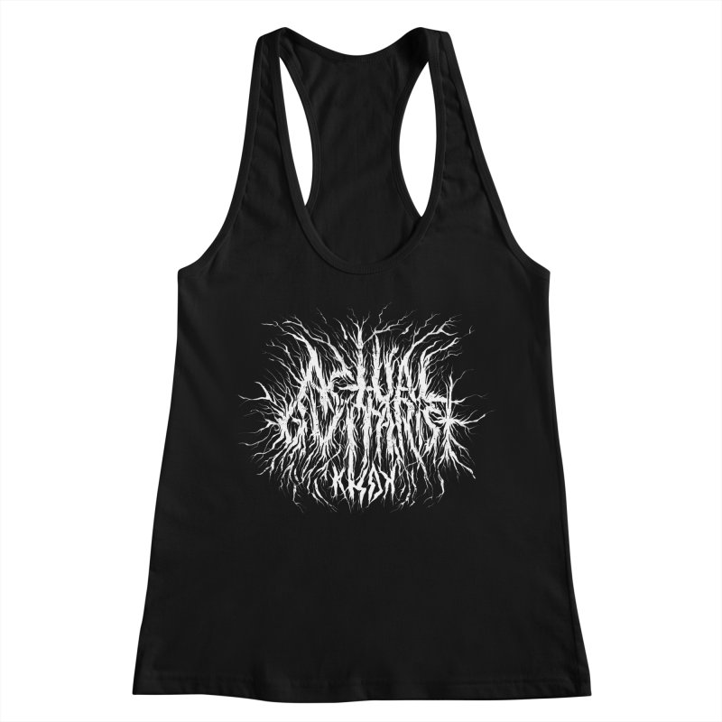 KHDK Actual Guitarist Women's Racerback Tank by KHDK