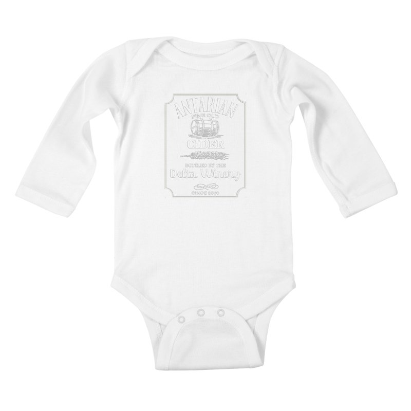 Fine Old Antarian Cider Kids Baby Longsleeve Bodysuit by To Boldly Merch