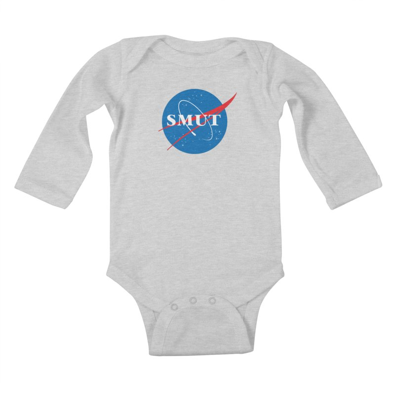 Space Smut Kids Baby Longsleeve Bodysuit by To Boldly Merch