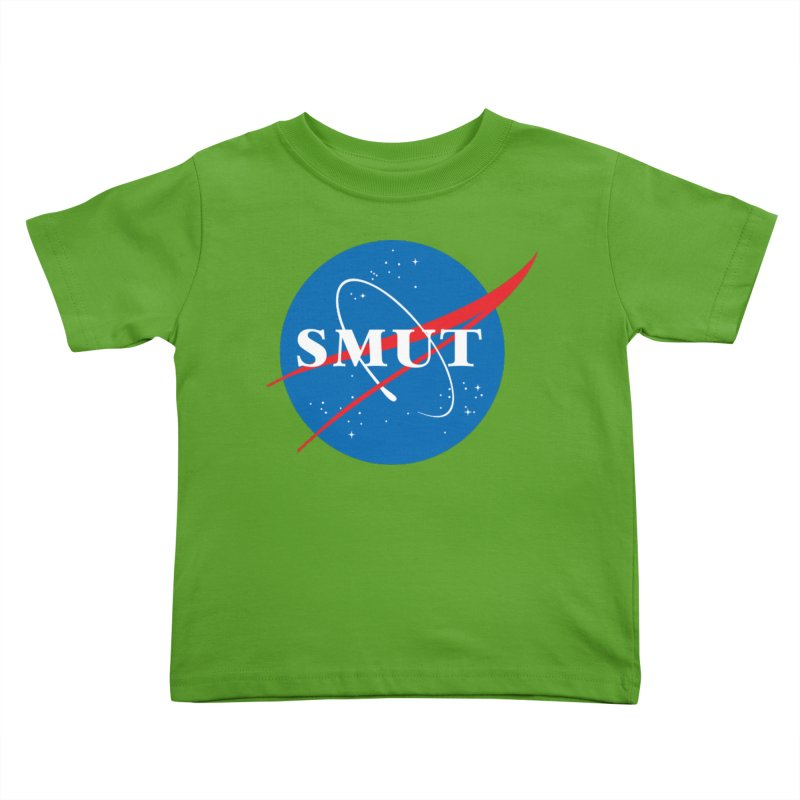 Space Smut Kids Toddler T-Shirt by To Boldly Merch