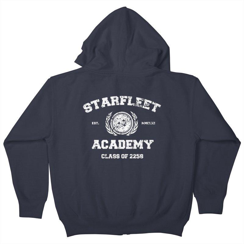 Starfleet Academy I Kids Zip-Up Hoody by khurst's Artist Shop