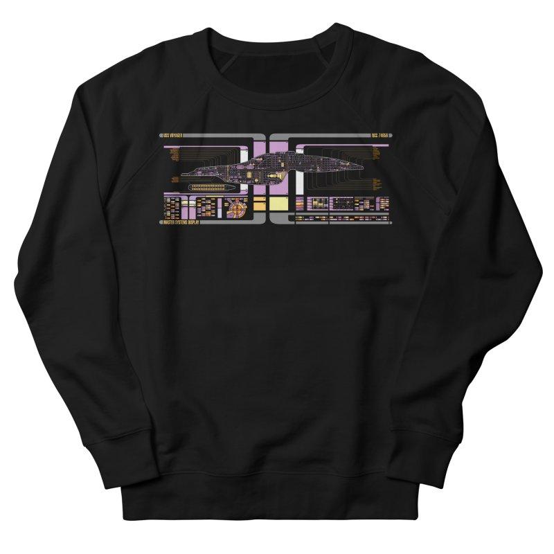 Star Trek Voyager Master Systems Display Men's Sweatshirt by khurst's Artist Shop