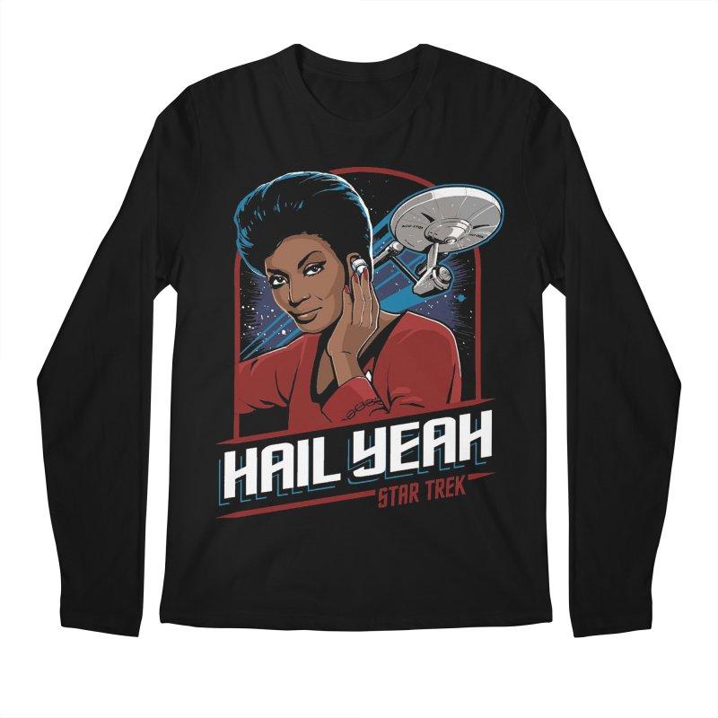 Hail Yeah - Nyota Uhura Men's Longsleeve T-Shirt by khurst's Artist Shop