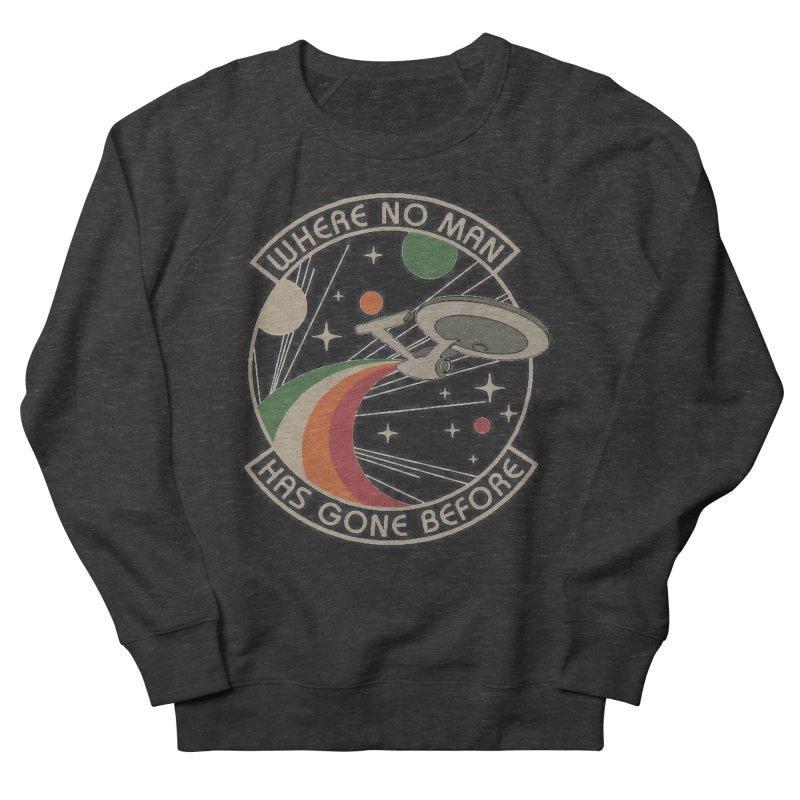 Where No Man Has Gone Before Men's Sweatshirt by khurst's Artist Shop