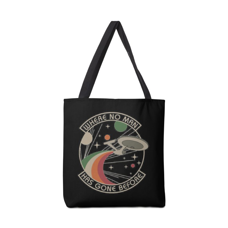 Where No Man Has Gone Before Accessories Bag by khurst's Artist Shop