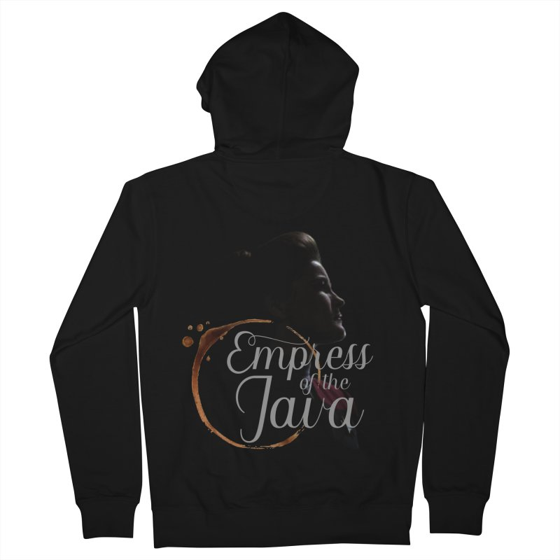 Empress of the Java Men's Zip-Up Hoody by khurst's Artist Shop