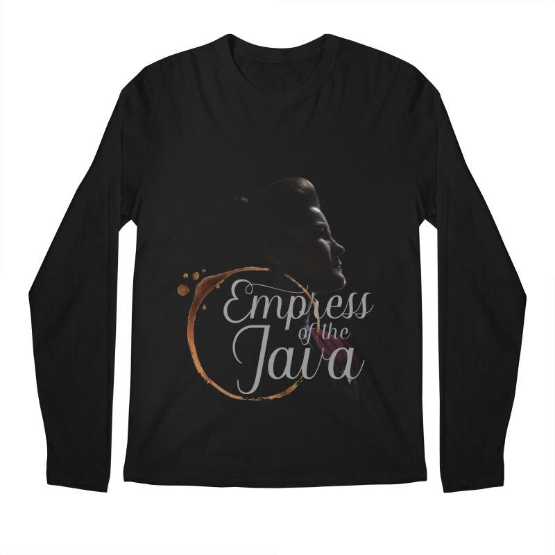 Empress of the Java Men's Longsleeve T-Shirt by khurst's Artist Shop