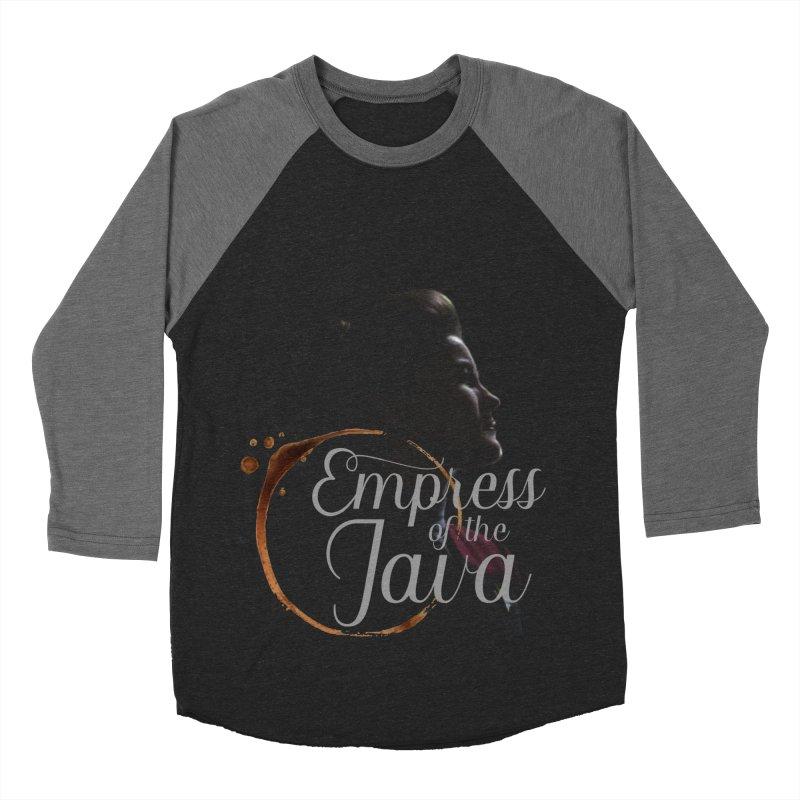 Empress of the Java Men's Baseball Triblend T-Shirt by khurst's Artist Shop