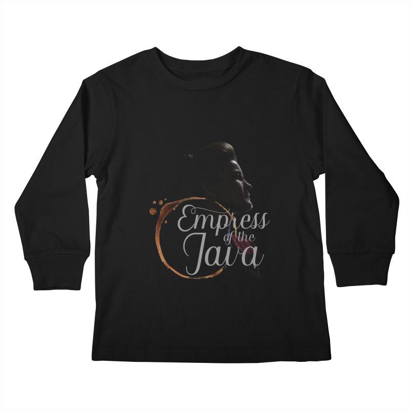 Empress of the Java Kids Longsleeve T-Shirt by khurst's Artist Shop